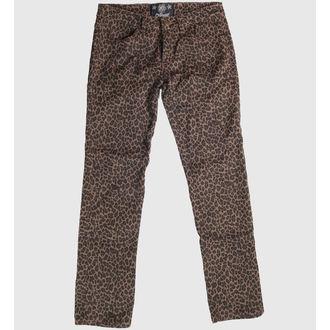 nohavice dámske COL LECTIF - Leopard - CLO1