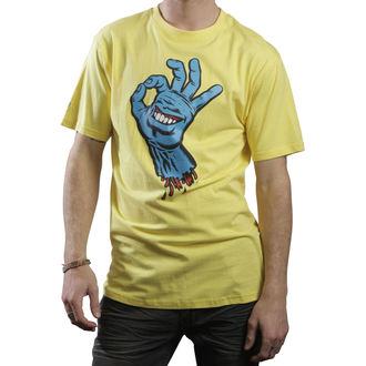 tričko pánske SANTA CRUZ - OK Hand - Banana, SANTA CRUZ