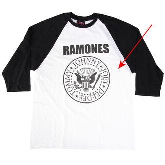 tričko pánske Ramones - President Seal - White - BRAVADO - RMN1036, BRAVADO, Ramones