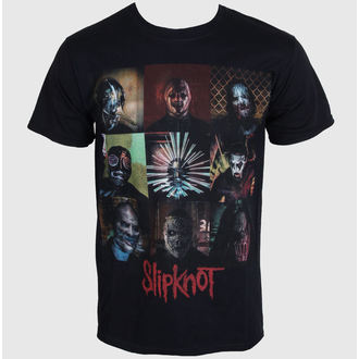 tričko pánske Slipknot - Blocks - Black - ROCK OFF, ROCK OFF, Slipknot