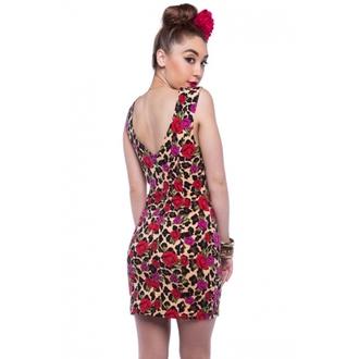 šaty dámske IRON FIST - Leopard Garden - Leopard, IRON FIST