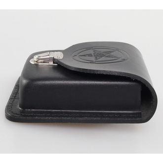 vrecko na opasok Baphomet - Black, JM LEATHER