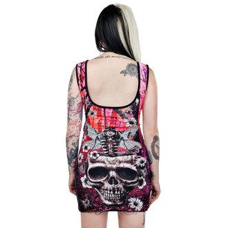 šaty dámske TOO FAST - Moth Skull