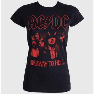 tričko dámske AC/DC - Highway To Hell Red - LIVE NATION, LIVE NATION, AC-DC