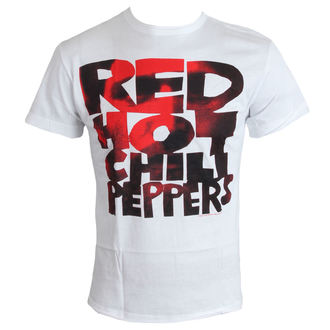 tričko pánske Red Hot Chili Peppers - Type Face Fill - White - AMPLIFIED, AMPLIFIED, Red Hot Chili Peppers