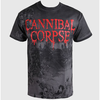 tričko pánske Cannibal Corpse - A Skeletal Domain - CELOPOTLAČ - PLASTIC HEAD, PLASTIC HEAD, Cannibal Corpse