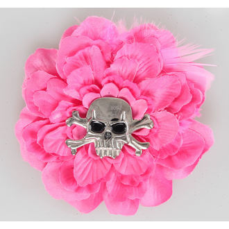 sponka do vlasov Pink Skull