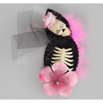 sponka do vlasov Pink Skeleton, NNM