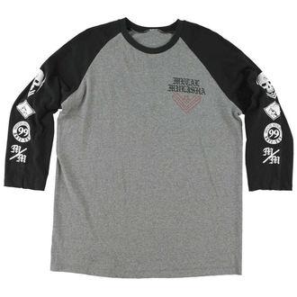 tričko pánske s dlhým rukávom METAL MULISHA - Faust Raglan, METAL MULISHA