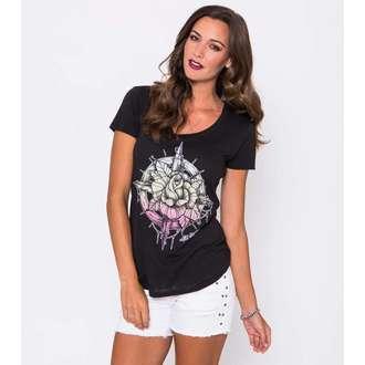tričko dámske METAL MULISHA - Compass Rose Scop, METAL MULISHA