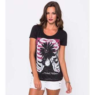 tričko dámske METAL MULISHA - Enclosed Scop - BLK