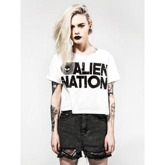 tričko dámske (top) DISTURBIA - Alien Nation - White, DISTURBIA