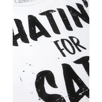 tričko dámske (top) DISTURBIA - Hatin - White, DISTURBIA