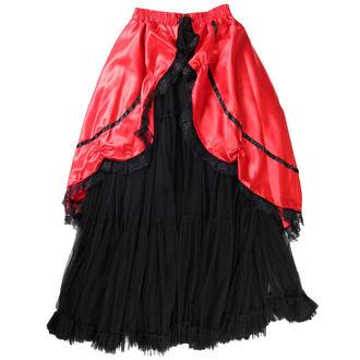 sukňa dámska Buvs - Black / Red - 9Red