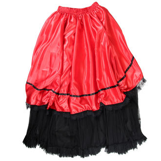 sukňa dámska Buvs - Black / Red, NNM