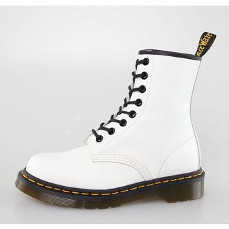topánky DR. MARTENS - 8 dierkové - 1460 - WHITE SMOOTH