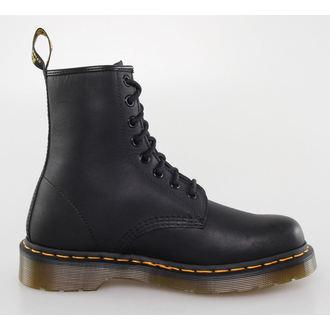 topánky DR. MARTENS - 8 dierkové - 1460 - BLACK Grease