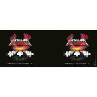 hrnček Metallica - Master Of Puppets - Black - PYRAMID POSTERS - MG22760
