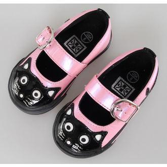 topánky detské TUK- Pink/Black, NNM