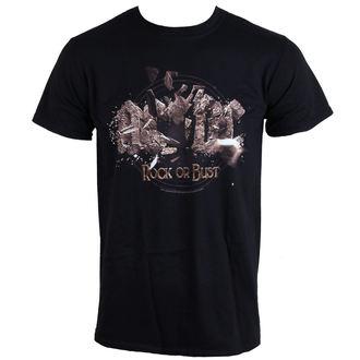 tričko pánske AC/DC - Rock Or Bust Explosion - BLACK - LIVE NATION, LIVE NATION, AC-DC