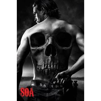 plagát Sons Of Anarchy - Skull - PYRAMID POSTERS, PYRAMID POSTERS