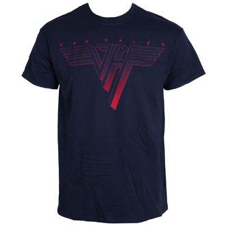tričko pánske VAN HALEN - Classic Logo - BLUE - LIVE NATION, LIVE NATION, Van Halen