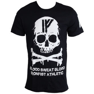 tričko pánske IRON FIST - Driip Skull - Black, IRON FIST