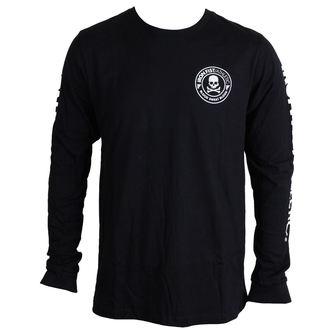 tričko pánske s dlhým rukávom IRON FIST - Crossbones - Black