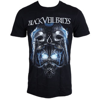 tričko pánske BLACK VEIL BRIDES - Metal Mask - BLK - LIVE NATION, LIVE NATION, Black Veil Brides