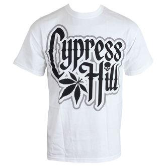 tričko pánske Cypress Hill - Logo - WHT, Cypress Hill