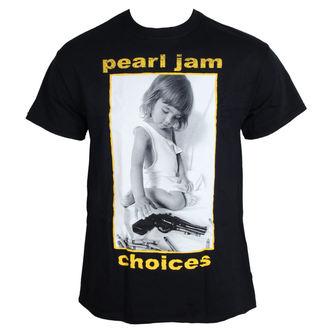 tričko pánske Pearl Jam - Choices - BLK - LIVE NATION, NNM, Pearl Jam