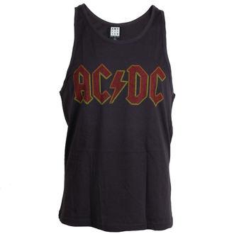 tielko pánske AC/DC - Logo - Charcoal - AMPLIFIED, AMPLIFIED, AC-DC