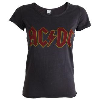 tričko dámske AC/DC -Logo - Charcoal - AMPLIFIED, AMPLIFIED, AC-DC
