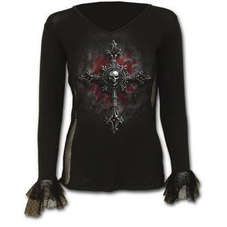 tričko dámske s dlhým rukávom SPIRAL - Vamp Fangs