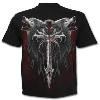 tričko pánske SPIRAL - Legiend Of The Wolves - D063M101