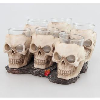 panáky (sada) Skulls - 816-4534
