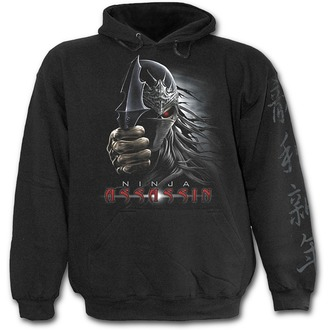 mikina detská SPIRAL- Ninja Assassin - Black, SPIRAL
