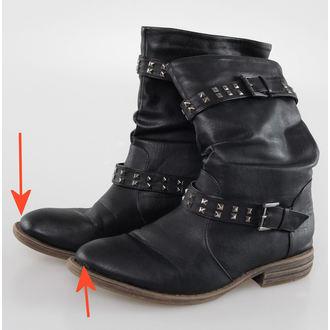 topánky dámske BRANDIT - Bikerboot - Black - POŠKODENÉ, BRANDIT