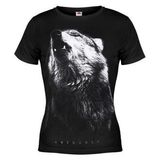 tričko dámske AMENQUEEN OF DARKNESS - Wolf - BLK - DOMEN036