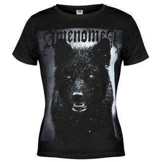 tričko dámske AMENQUEEN OF DARKNESS - Black Wolf - BLK - DOMEN024