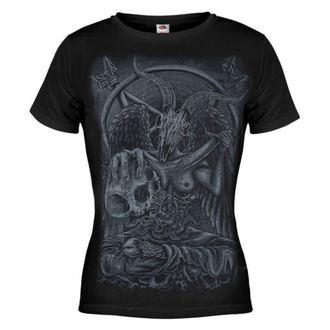 tričko dámske AMENQUEEN OF DARKNESS - Demon - BLK - DOMEN023
