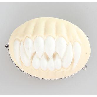 Brošňa RESTYLE - TEETH - white, RESTYLE
