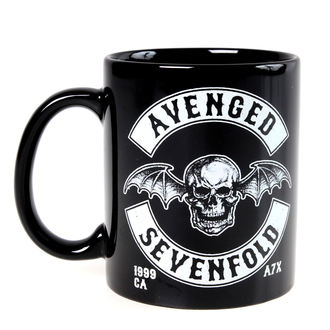 hrnček Avenged Sevenfold - Deathbat Crest - ROCK OFF, ROCK OFF, Avenged Sevenfold