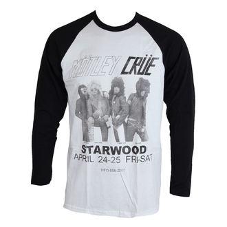 tričko pánske s dlhým rukávom Mötley Crüe - Starwood Flyer 1981 - ROCK OFF, ROCK OFF, Mötley Crüe