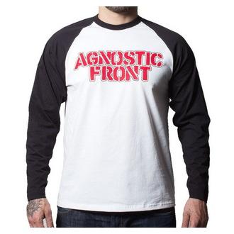 tričko pánske s dlhým rukávom Agnostic Front - Never Walk Alone - BUCKANEER - Black/White, Buckaneer, Agnostic Front