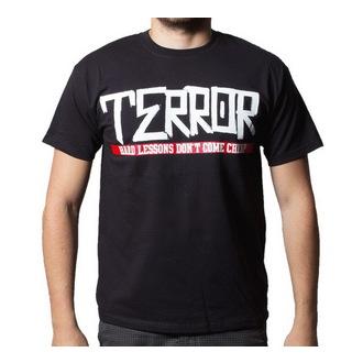 tričko pánske Terror - Hard Lessons - BUCKANEER - Black, Buckaneer, Terror
