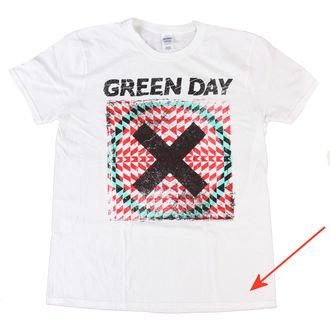 tričko pánske Green Day - Xllusion - White - BRAVADO EU - POŠKODENÉ, BRAVADO EU, Green Day