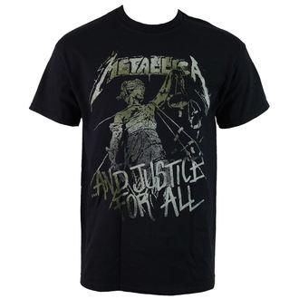 tričko pánske Metallica - Vintage Justice -  PEMTL1430