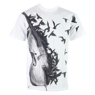 tričko pánske ALISTAR - Bass - White, ALISTAR