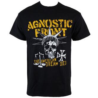 tričko pánske Agnostic Front - Liberty Skull - Black - RAGEWEAR, RAGEWEAR, Agnostic Front